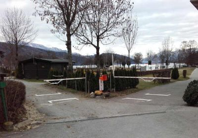 Kemping a Millstatt-tónál Karintiában