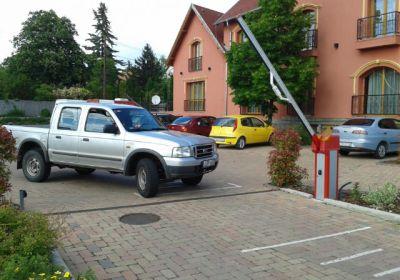Hotel-Parkplatz