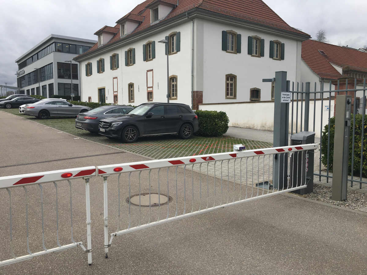 Schranke beim TSG 1899 Hoffenheim